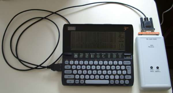 GPS and Psion